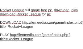 Torrent rocket league mac | Peatix