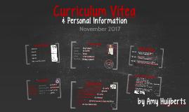 Curriculum Vitea Amy Huijberts