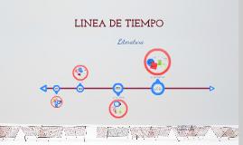 Linea de Tiempo: Literatura