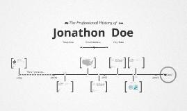 Timeline Prezumé by Gustavo Munevar