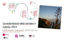 Copy of Copy of Caracterització dels turistes a Calella 2014