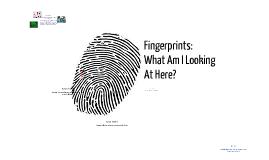 Copy of Introduction to Fingerprints