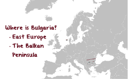Copy of Welcome to Bulgaria