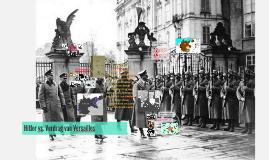 Hitler vs. Verdrag van Versailles
