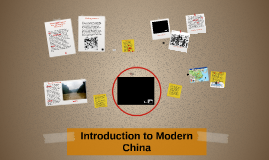 Introduction to Modern China