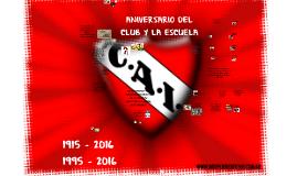 Aniversario del club y la escuela 2016