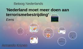 Betoog Nederlands MBO Centrum (Amsterdam)