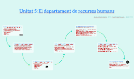 T5. El departament de recursos humans