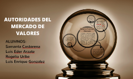 Copy of AUTORIDADES DEL MERCADO DE VALORES