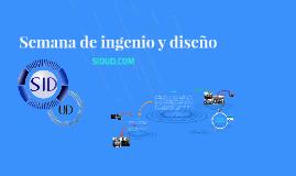 Semana de ingenio y diseño