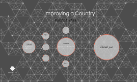 Improving a Country