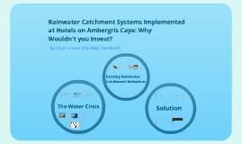 Rainwater Catchment Presentation