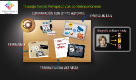 Trabajo Social: Perspectivas contemporaneas