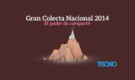 Gran Colecta Nacional 2014