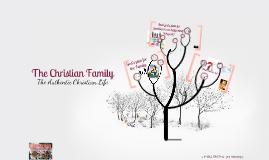Copy of CLP Talk 7: The Christian Family