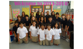 Copy of Welcome to 2013-2014!