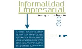 Informalidad Empresarial II