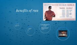benefits of run
