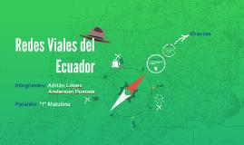 Redes Viales del Ecuador