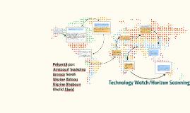 Tech Watch / Horizon Scanning