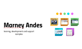 Marney Andes - Work Samples