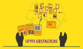 LEYES GESTALTICAS