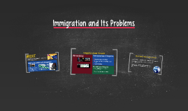 Immigration and Its Problems