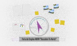 """Feria de Empleo ADEM """"Descubre Tu Norte"""""""