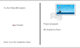 Academics TeAM Projects