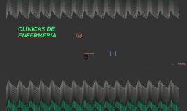 CLINICAS DE ENFERMERIA