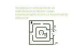 PROYECTO PORTAFOLIO ELECTRÓNICO