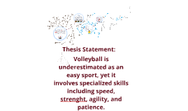 Volleyball thesis statement
