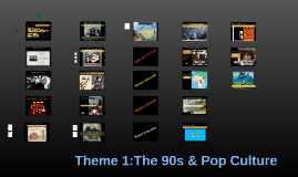 The 90s & Pop Culture