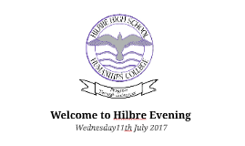Welcome to Hilbre Evening 2017