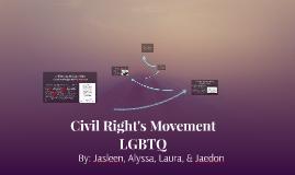 Civil Right's Movement