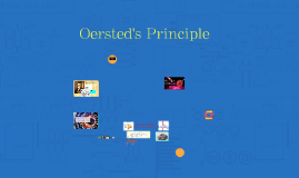 Oersted's Principle