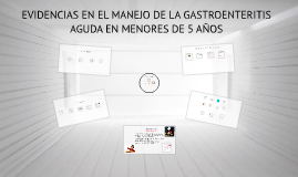 Copy of EVIDENCIAS EN EL MANEJO DE LA GASTROENTERITIS AGUDA EN MENOR