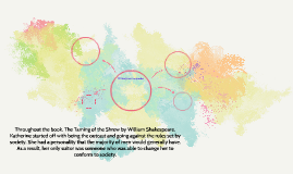 Throughout the book, The Taming of the Shrew by William Shak