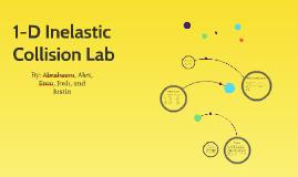 1-Dimensional Collision Lab