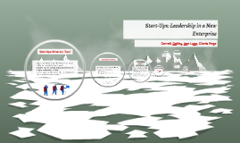 Leaders in a Nontraditional Domain: Leadership in Startup Or