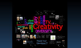 Copy of Creativity and Diversity