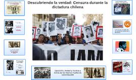 Descubriendo la verdad: Censura durante la dictadura Chilena