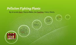 Amanda korn on prezi for Pollution fighting plants