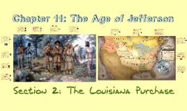 11-2 The Louisiana Purchase