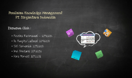 Penilaian Knowledge Management  PT. Dirgantara Indonesia