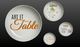 ART ET TABLE - PITCH