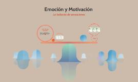 Emoción y Motivación