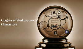 Origins of Shakespeare's Characters