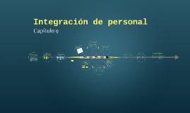 Integración de personal