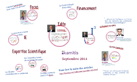 Kamitis - Publication Septembre 2014